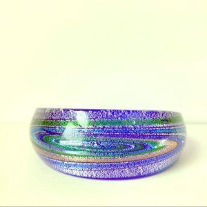 Jewelry - Dichroic Glass Cuff Bracelet Artisan